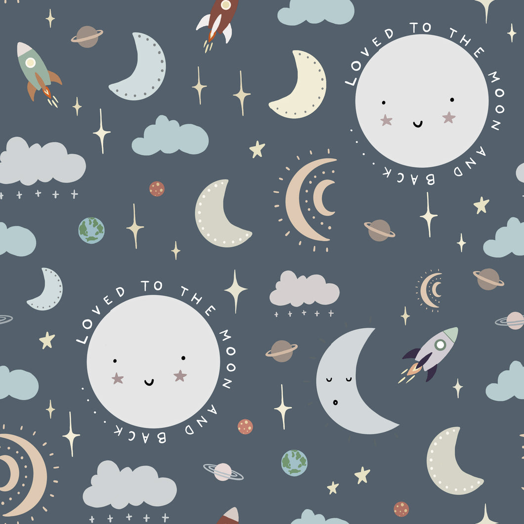Loved To The Moon And Back Leggings