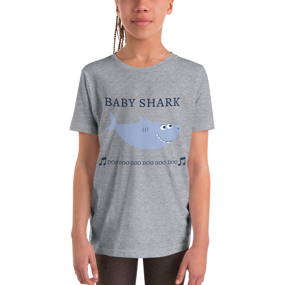 Baby Shark Sloth Cloth Youth T Shirt Sloth Cloth Tees