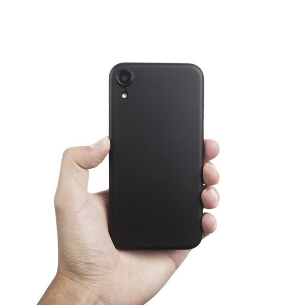 Super thin iPhone XR case 6,1  - Solid black