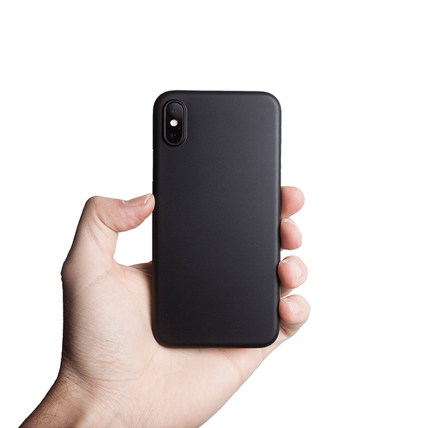 Super thin iPhone XS case 5,8 - Solid black