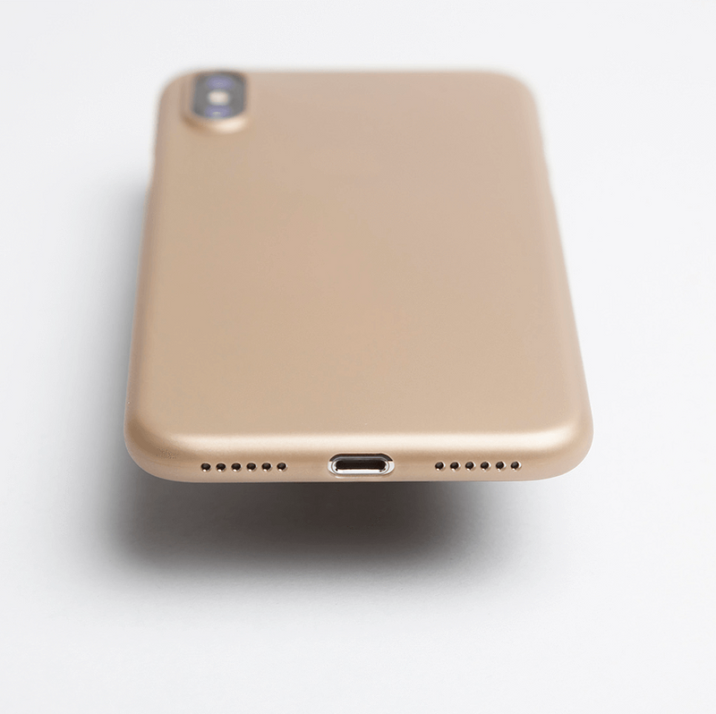 Super thin iPhone X case - Gold