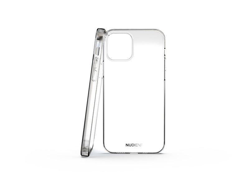 Thin glossy iPhone 12 Pro case - 100% transparent