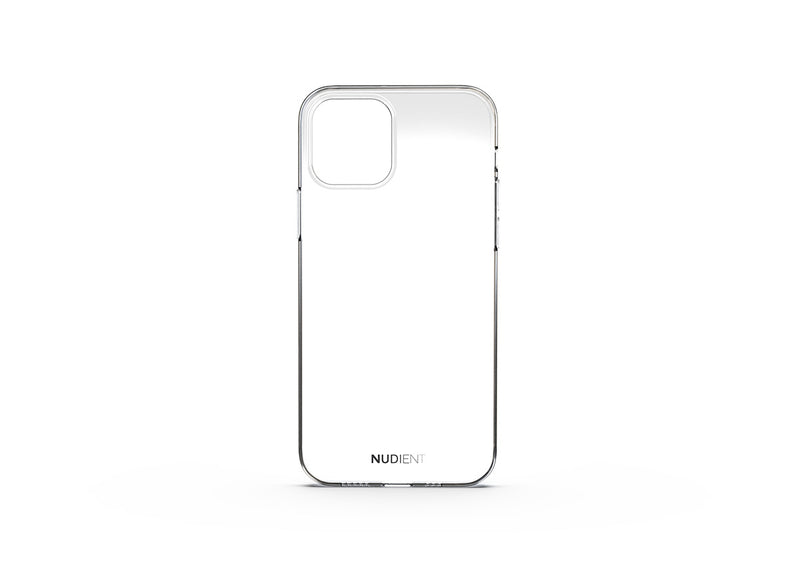 Thin glossy iPhone 12 case - 100% transparent