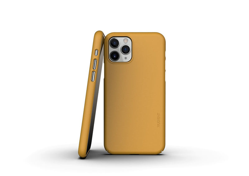 Nudient - Thin iPhone 11 Pro Case V3 - Saffron Yellow