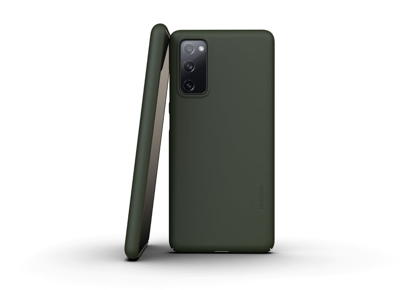Nudient - Samsung S20 FE Case V3 - Pine Green