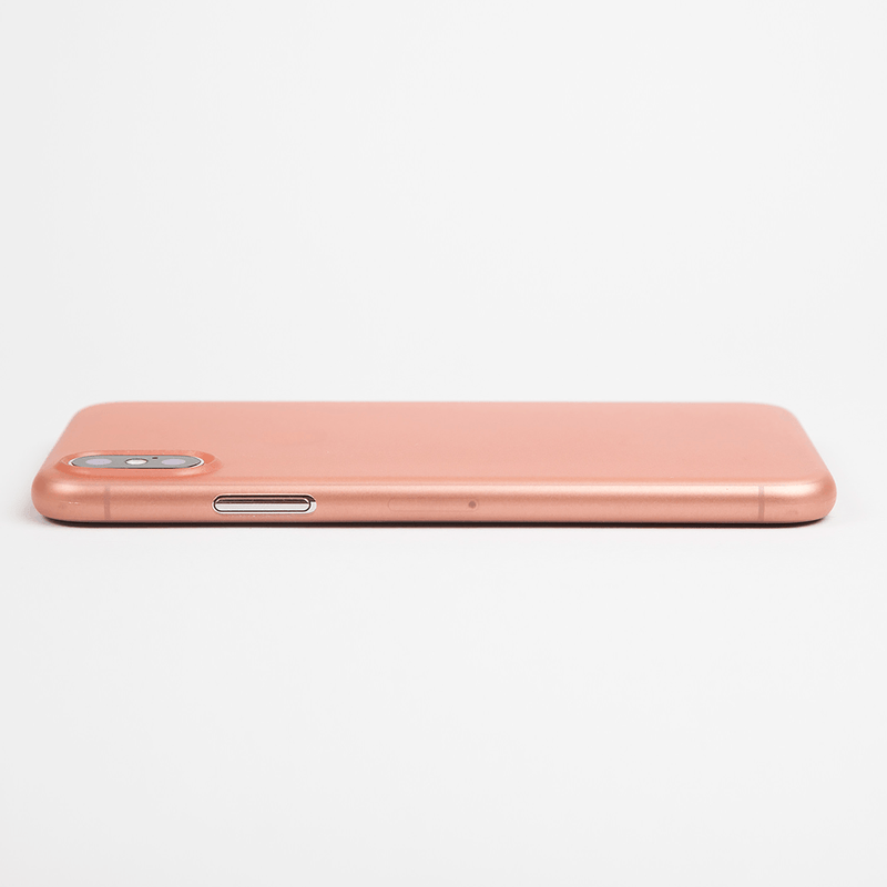 Super thin iPhone X case - Rose