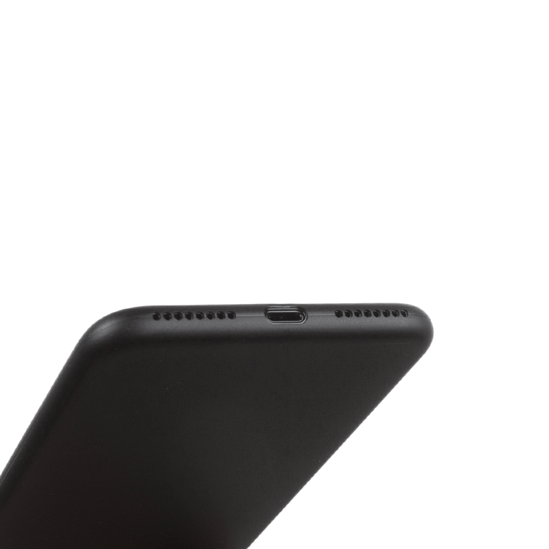 Super thin iPhone 8 plus case - Solid black