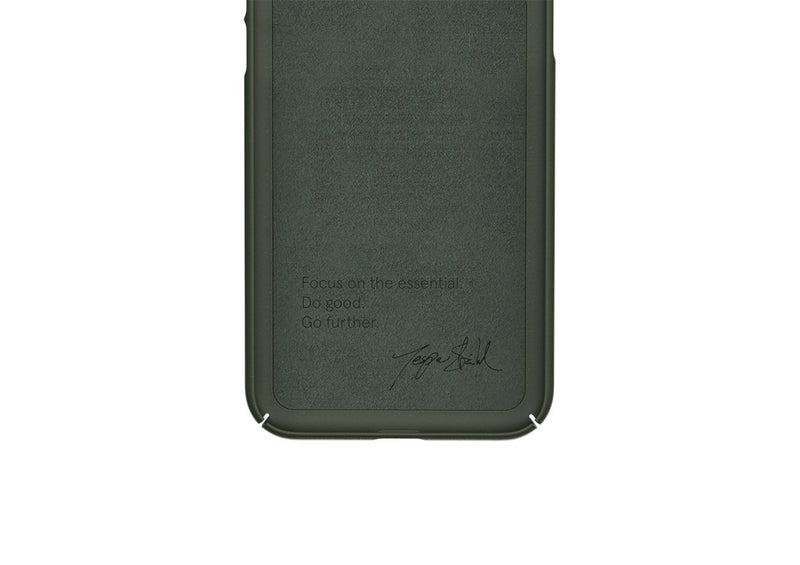 Nudient - Thin iPhone X Case V3 - Pine Green
