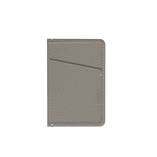 Nudient - Card Holder Leather (only for v3) - Clay Beige