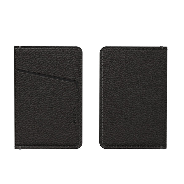 Nudient - Card Holder Leather (only for v3) - Ink Black