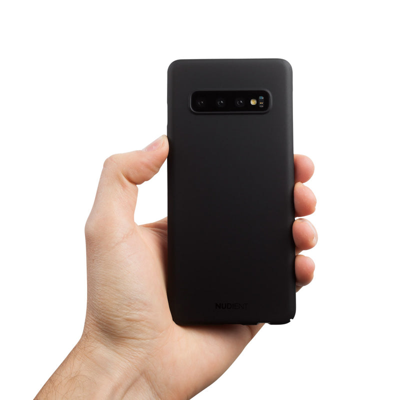 Thin Samsung S10 Case V2 - Stealth Black