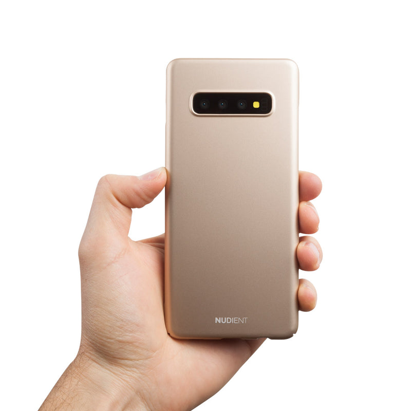 Thin Samsung S10+ Case V2 - Jewelry Gold