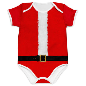 Combo Body Papai Noel + Shorts + Touca