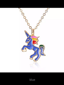 Cute unicorn necklace