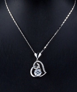 Lovely heart necklace