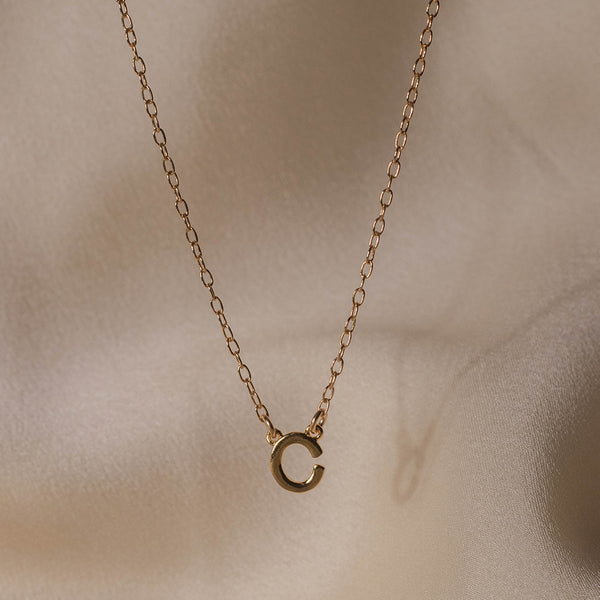 Custom Single Initial Necklace