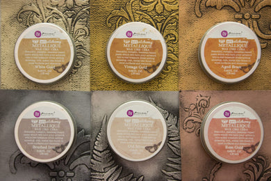 Art Alchemy Metallique Wax - Multiple Colors