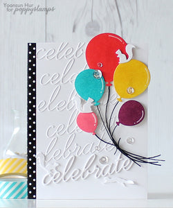 Celebration Balloons craft die