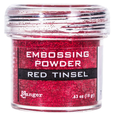 Embossing Powder, Tinsel Red