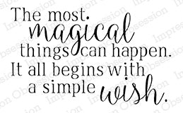 Cling Stamp, Magical Wish