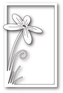 Floral Stem Collage craft die