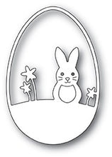 Easter Bunny Egg craft die