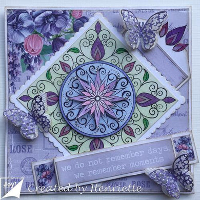 Star Flower Clear Stamp