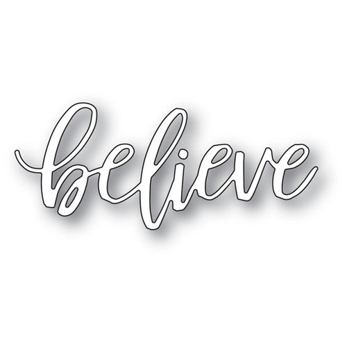 Believe Fresh Script craft die