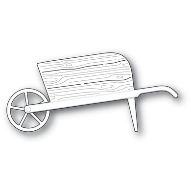 Country Garden Wheelbarrow craft die
