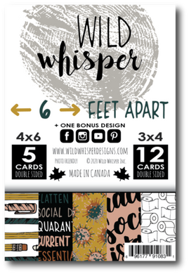 6 FEET APART - SINGLE CARD PACK,