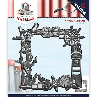 Amy Design Maritime Nautical Frame - Metal Die
