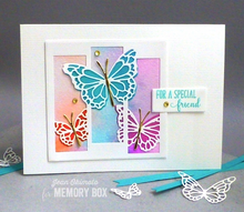 Butterfly Spectacle craft die