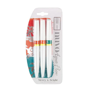 Nuvo - Aqua Flow Pens - Merry & Bright