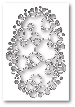 Bubble Ring Collage craft die