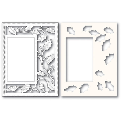 Holly Vine Sidekick Frame craft die (Stencil & Die Set)