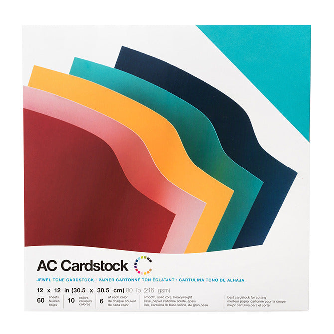 JEWEL TONE Smooth Cardstock Variety Pack – American Crafts