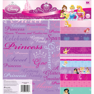 EK Success - Disney Collection - Princess - 12 x 12 Specialty Paper Pad