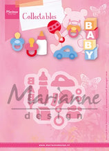 Marianne Design: Collectables Die Set - Eline's Baby Essentials