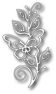Bellina Butterfly Stem craft die