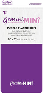 Gemini Mini Accessory, Plastic Shim Purple