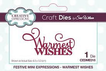 Festive Collection Warmest Wishes - Christmas