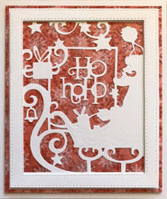 Paper Cuts Collection Santa's Sleigh Frame Craft Die