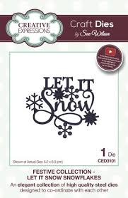 Festive Collection -  Let It Snow - Christmas