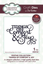 Festive Collection Tidings of Comfort & Joy - Christmas