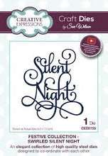 Festive Collection Swirled Silent Night