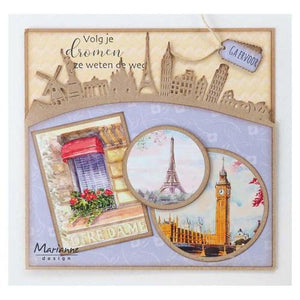 Marianne Design Craftables Around the World Border