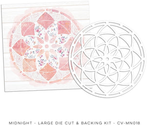 Large Die Cut & Backing Kit, Midnight
