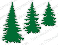 Evergreen Trees - Christmas