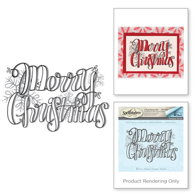 MERRY CHRISTMAS HOLIDAY STAMPS BY TAMMY TUTTEROW