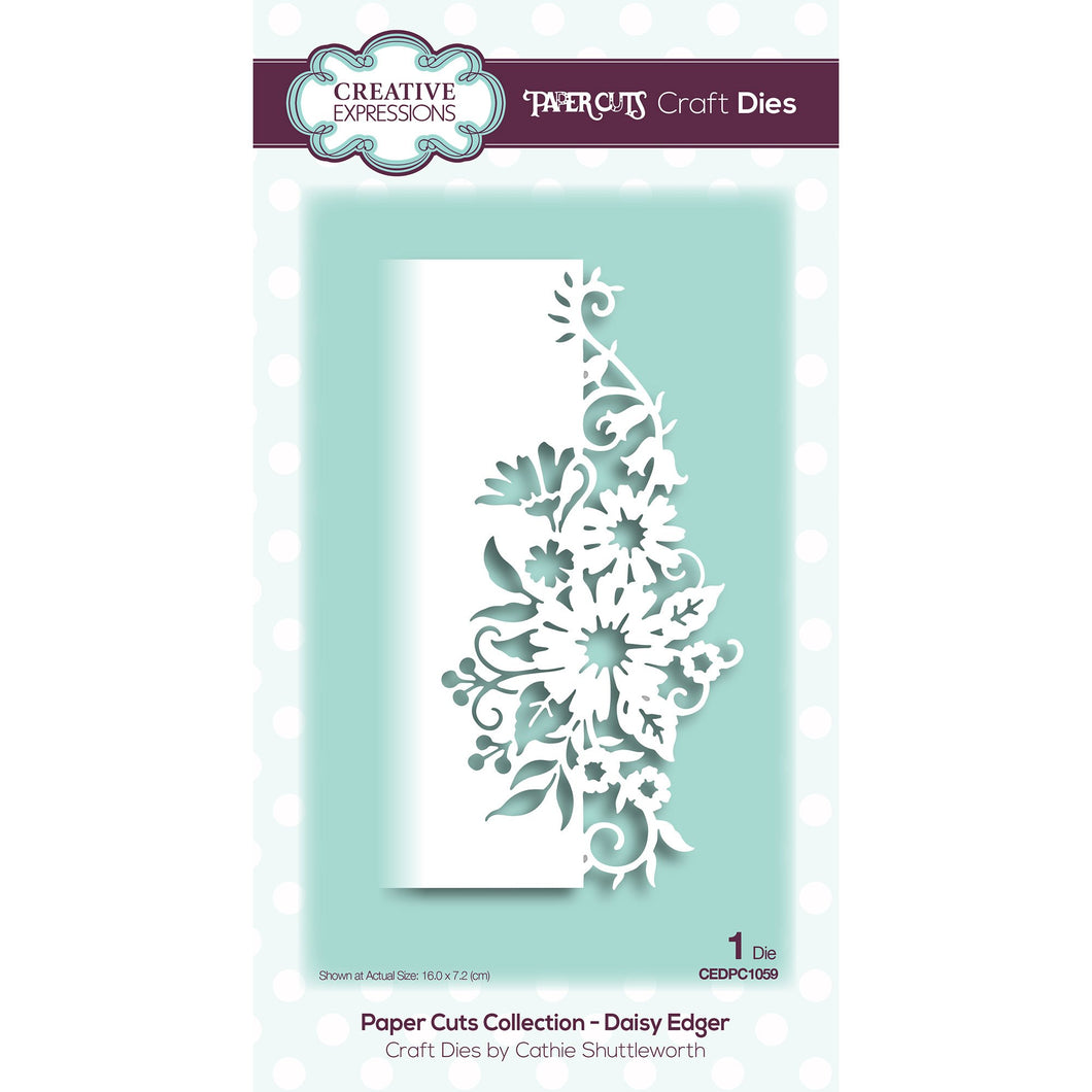 Paper Cuts Collection Daisy Edger Craft Die